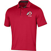 Under Armour Men's Utah Utes Crimson Tech Polo