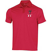 Under Armour Men's Texas Longhorns Red Pinnacle Performance Polo