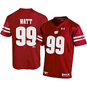 Under Armour Men's J.J. Watt #99 Red Replica Football Jersey