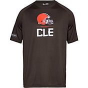 83b953843 Product Image · Under Armour NFL Combine Authentic Men s Cleveland Browns  Lockup Logo Tech Brown T-Shirt