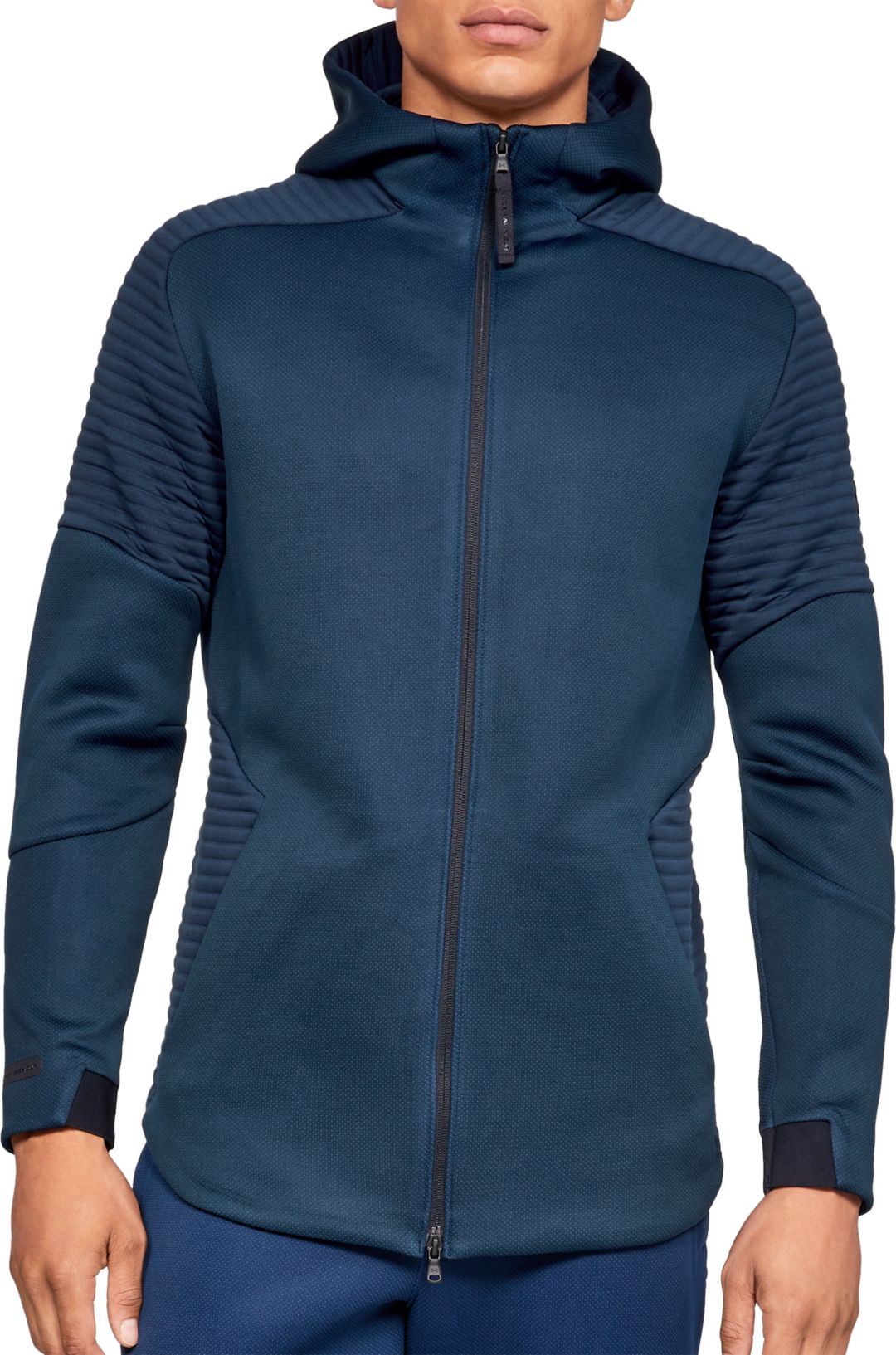 6b0e19fedf Under Armour Men's Unstoppable Move Full-Zip Hoodie
