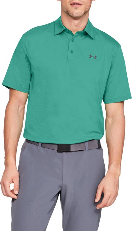 Under Armour Men's Playoff Feeder Stripe Golf Polo