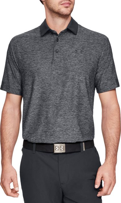 Under Armour Men's Playoff Graphic Sleeve Golf Polo – Extended Sizes