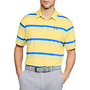 Under Armour Men's Playoff Elite Putter Stripe Golf Polo
