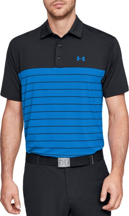 Under Armour Men's Playoff Medal Golf Polo