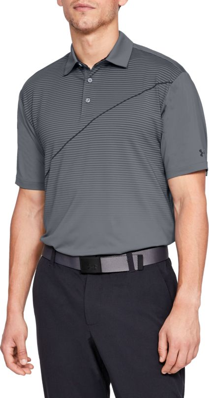Under Armour Men's Playoff Pitch Golf Polo – Extended Sizes