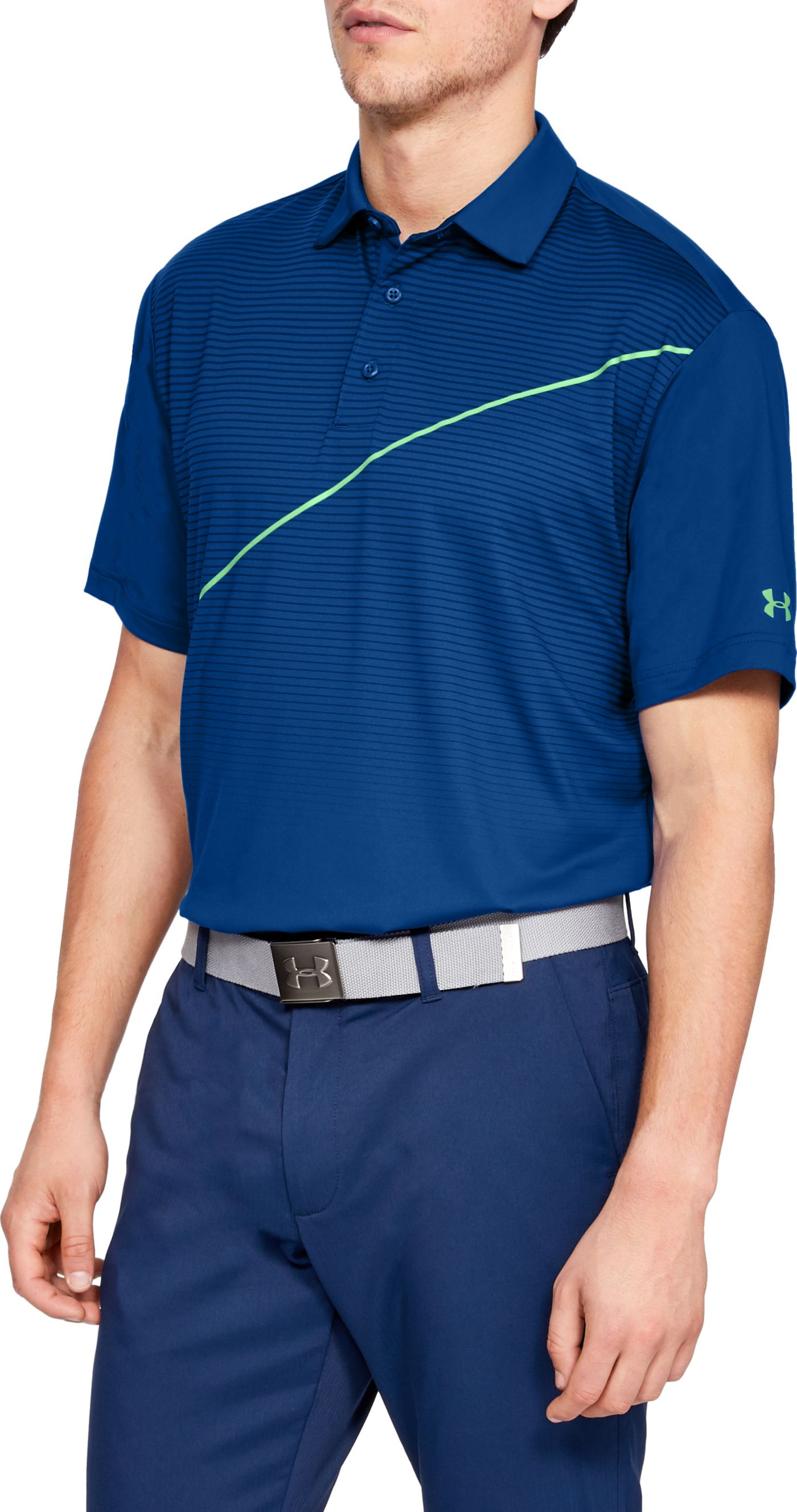 Under Armour Men's Playoff Pitch Golf Polo