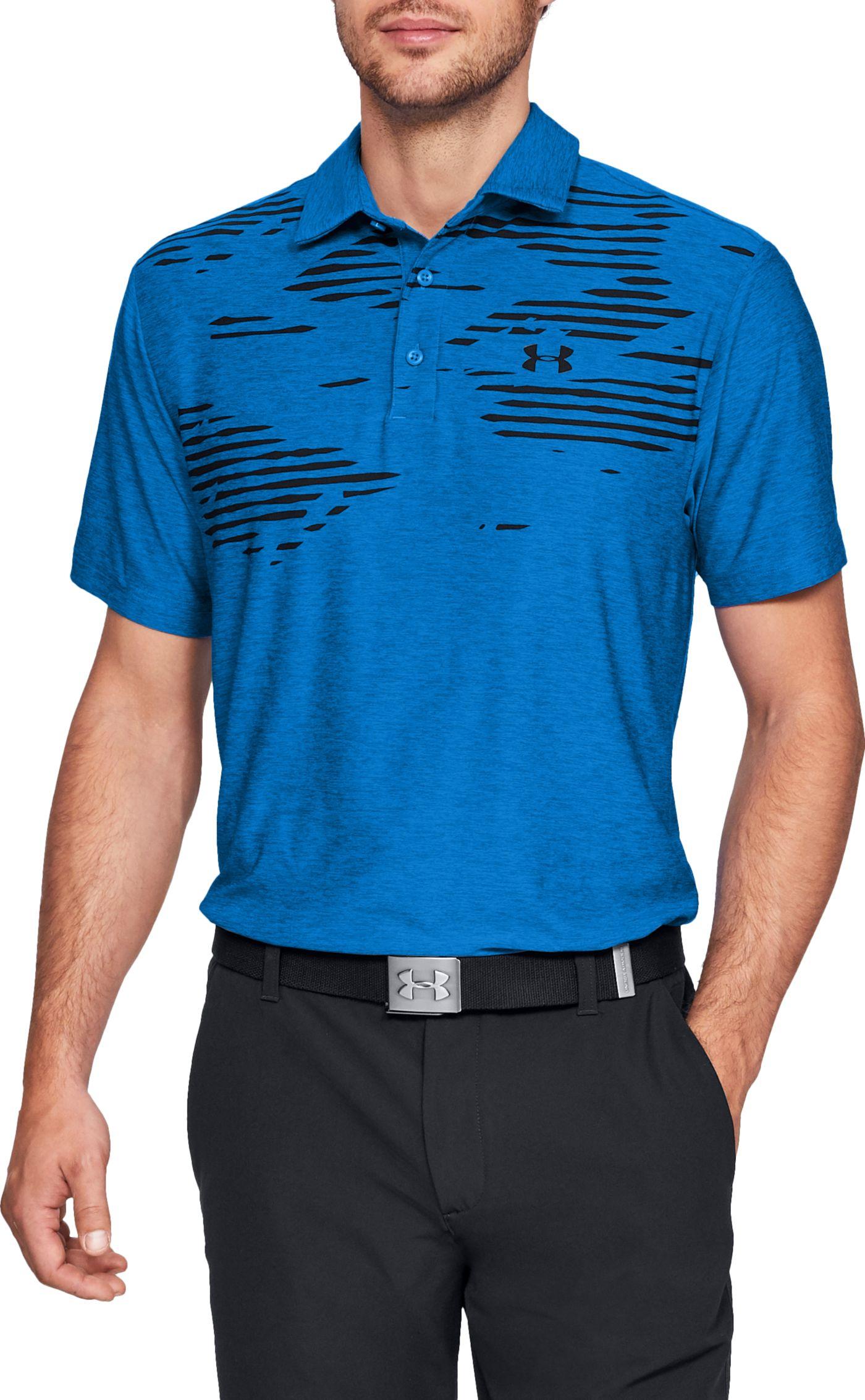 Under Armour Men's Screen Print Golf Polo