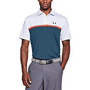 Under Armour Men's Playoff Super Stripe Golf Polo