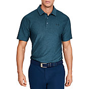 Under Armour Men's Playoff Tonal Twist Offset Golf Polo