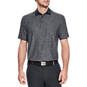 Under Armour Men's Playoff Graphic Sleeve Golf Polo