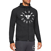 Under Armour Men's Project Rock Double Knit Full-Zip Jacket