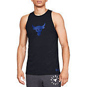 a569d4518f03a4 Product Image · Under Armour Men s Project Rock Baseline Tank Top. Black  Royal