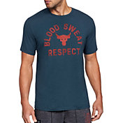 Under Armour Men's Project Rock Blood Sweat Respect Graphic T-Shirt