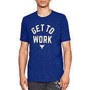 Under Armour Men's Project Rock Get To Work Graphic T-Shirt