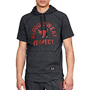 Under Armour Men's Project Rock Respect Graphic Short Sleeve Hoodie
