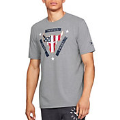 Under Armour Men's Project Rock USDNA Flag Graphic T-Shirt