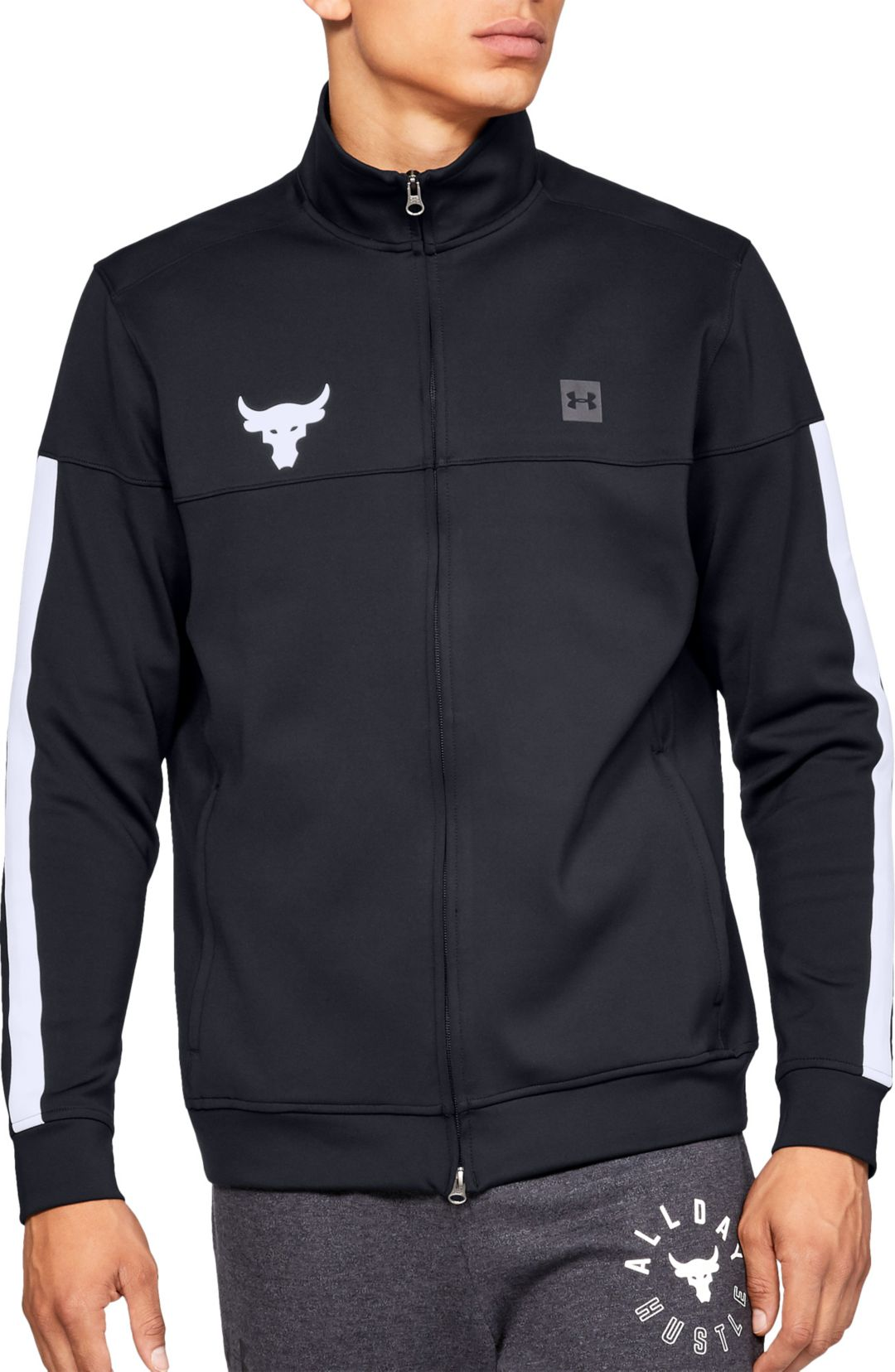 cbfe4c9bbe Under Armour Men's Project Rock Track Jacket   DICK'S Sporting Goods