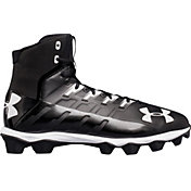 b08a4274fc0 Product Image · Under Armour Men s Renegade RM Football Cleats. Black Black