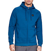 Under Armour Men's Rival Fleece Full Zip Hoodie (Regular and Big & Tall)