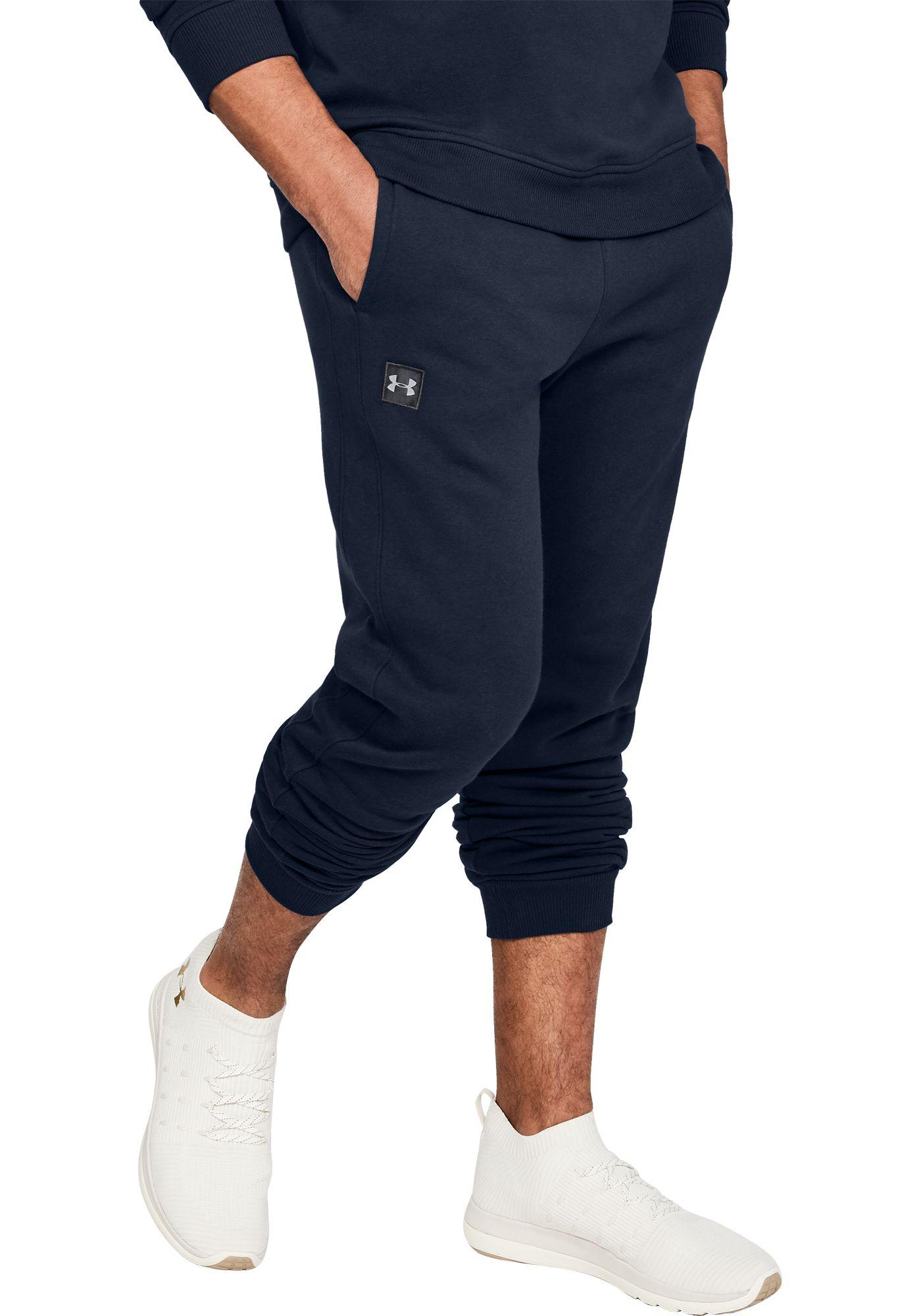 Under Armour Men's Rival Fleece Jogger Pants (Regular and Big & Tall)