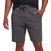 Under Armour Men's Rival Fleece Shorts in Charcoal/Black