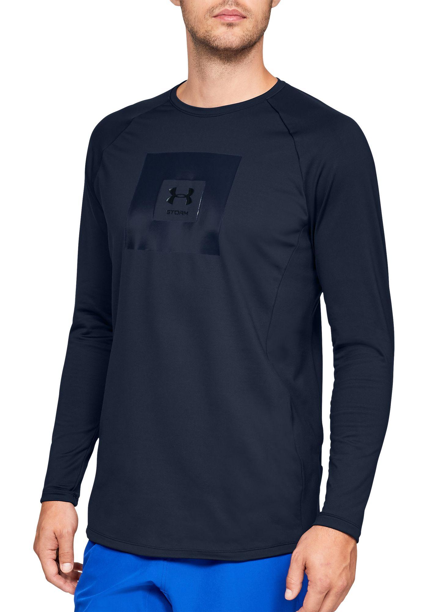 Under Armour Men's Storm Cycle ColdGear Crewneck Long Sleeve Shirt