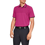 Under Armour Men's Threadborne Cross Hatch Golf Polo