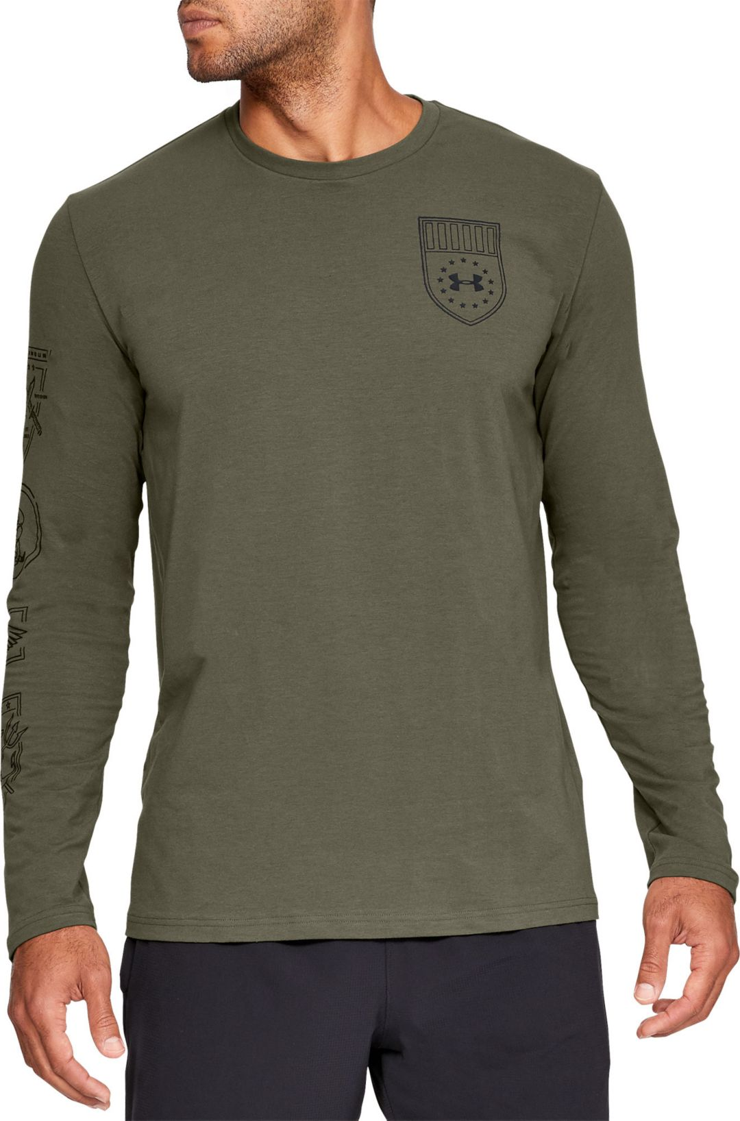 3f726f76 Under Armour Men's Tactical Graphic Long Sleeve T-Shirt | DICK'S ...