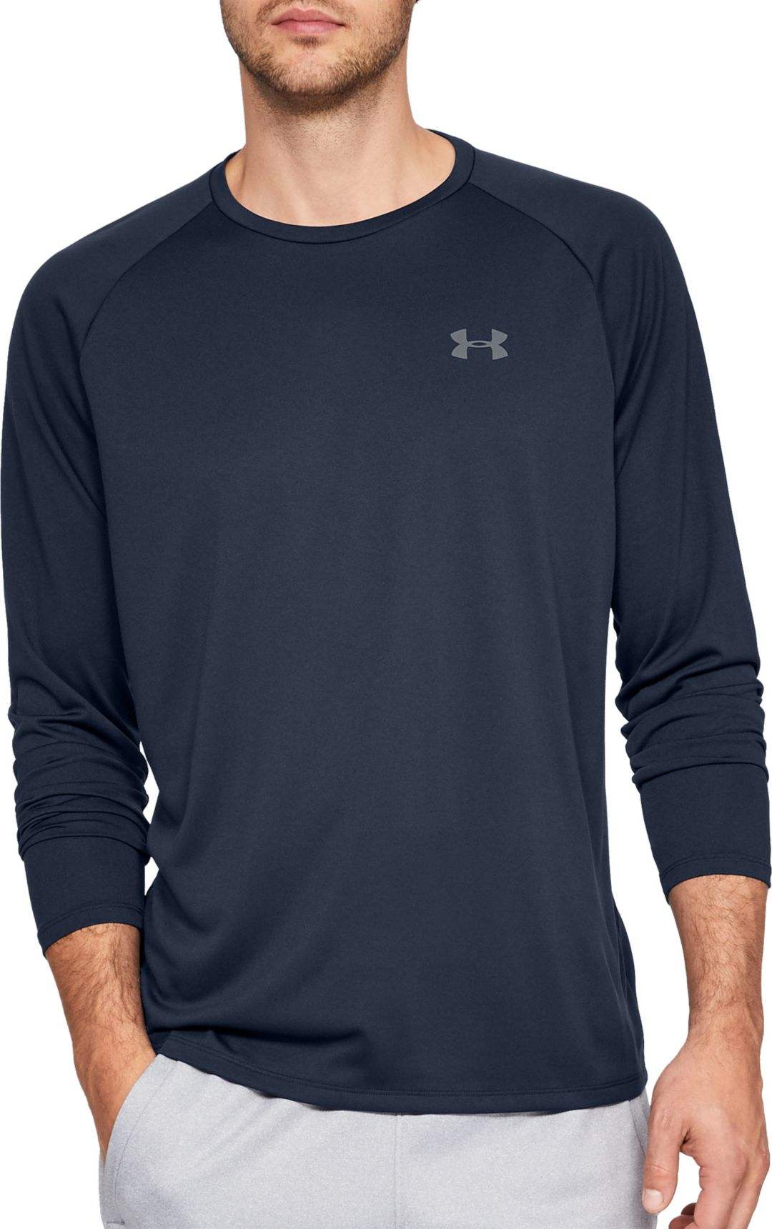 b1dd6bd09 Under Armour Men's Tech Long Sleeve Shirt | DICK'S Sporting Goods