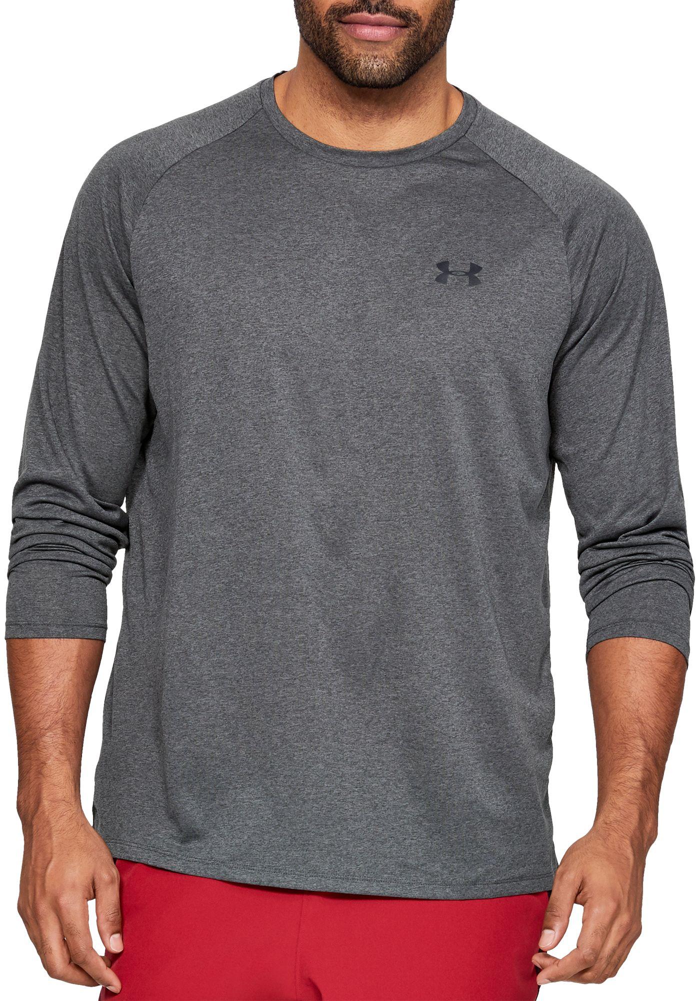 Under Armour Men's Tech Long Sleeve Shirt (Regular and Big & Tall)