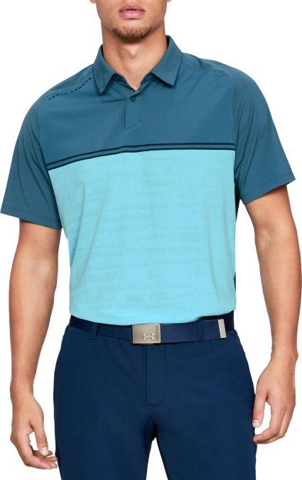 Under Armour Men's Threadborne Calibrate Golf Polo
