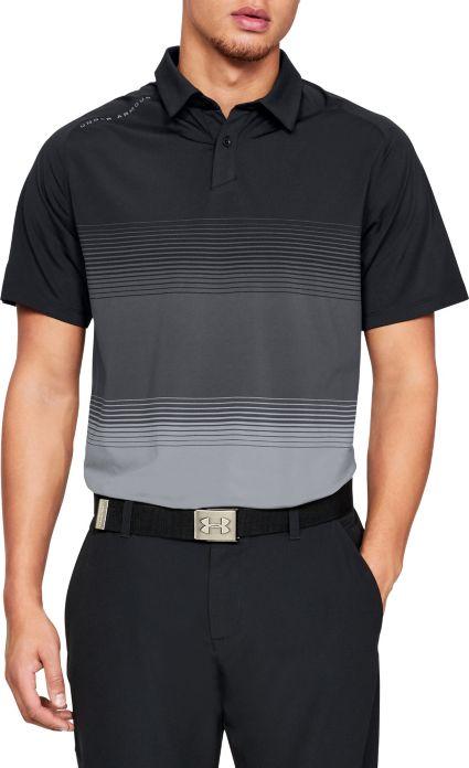 Under Armour Men's Threadborne Gradient Golf Polo