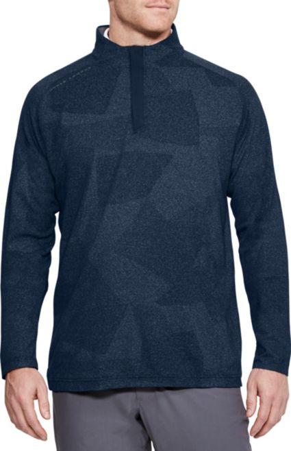 Under Armour Men's Threadborne ¼ Zip Golf Shirt