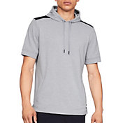 Under Armour Men's Terry Fleece Short Sleeve Hoodie