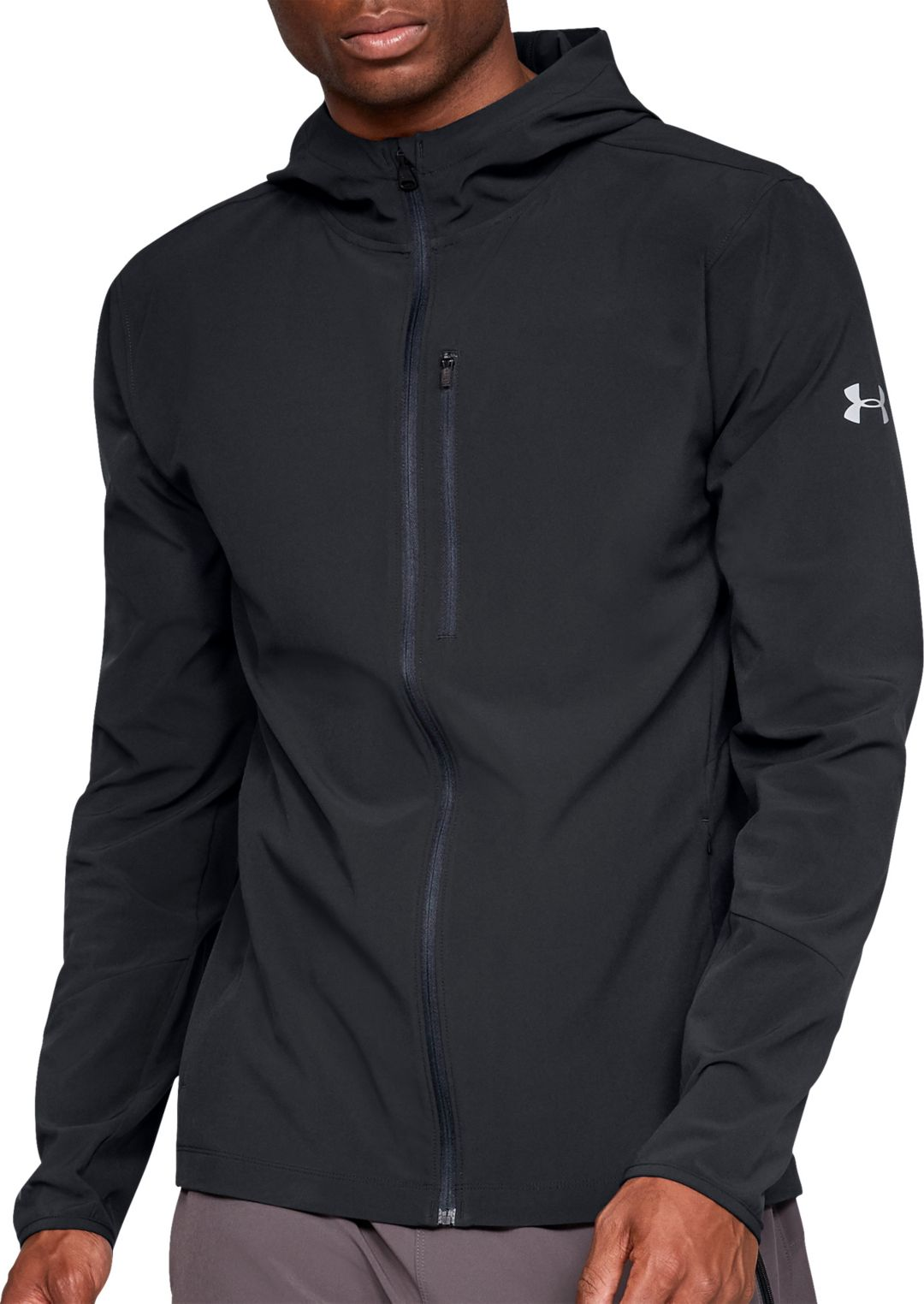 a627b4f11 Under Armour Men's Outrun The Storm Jacket | DICK'S Sporting Goods