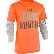 Under Armour Toddler Boys' Born to Hunt Slider Long Sleeve Shirt