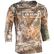 Under Armour Toddler Boys' Realtree Hunt Logo Long Sleeve Shirt