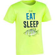 Under Armour Toddler Boys' Eat Sleep Fish Short Sleeve T-Shirt