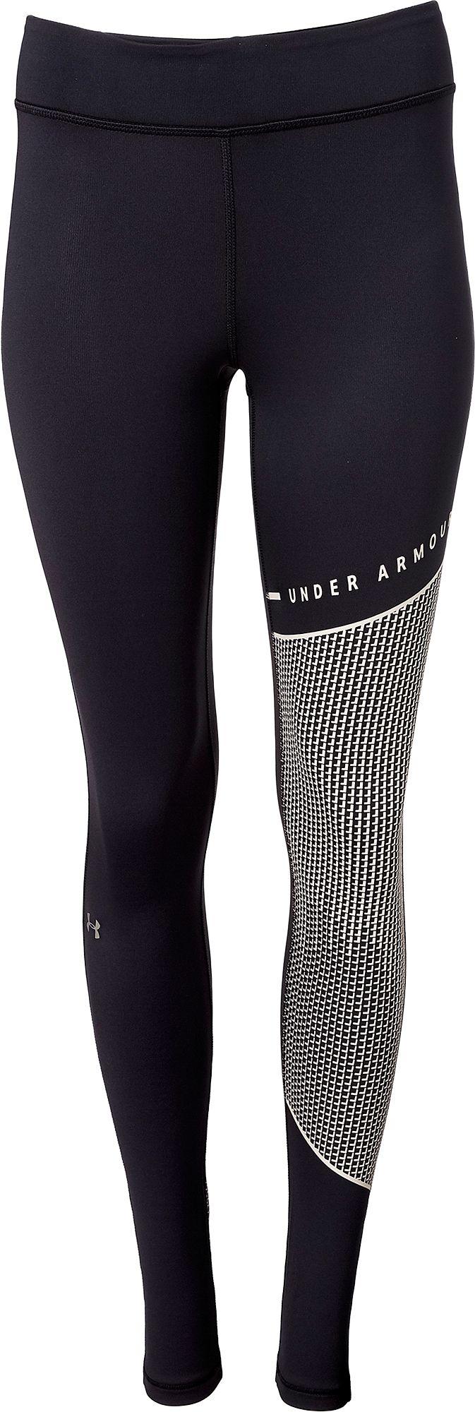 Under Armour Women's ColdGear Armour Block Leggings, Size: XS, Black thumbnail