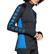 Under Armour Women's ColdGear Armour Graphic ½ Zip Long Sleeve Shirt