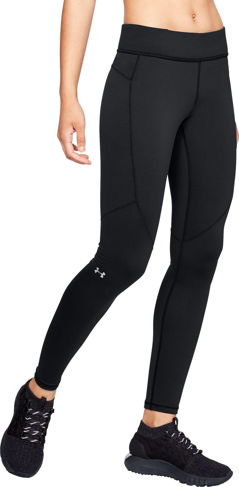 Under Armour Women's ColdGear Armour Leggings, Size: XS, Black thumbnail