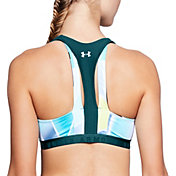 Under Armour Women's Cutout Printed Sportlette Sports Bra
