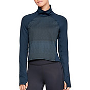 c737c4fc7 Product Image · Under Armour Women's ColdGear Cozy Mock Neck Long Sleeve  Shirt