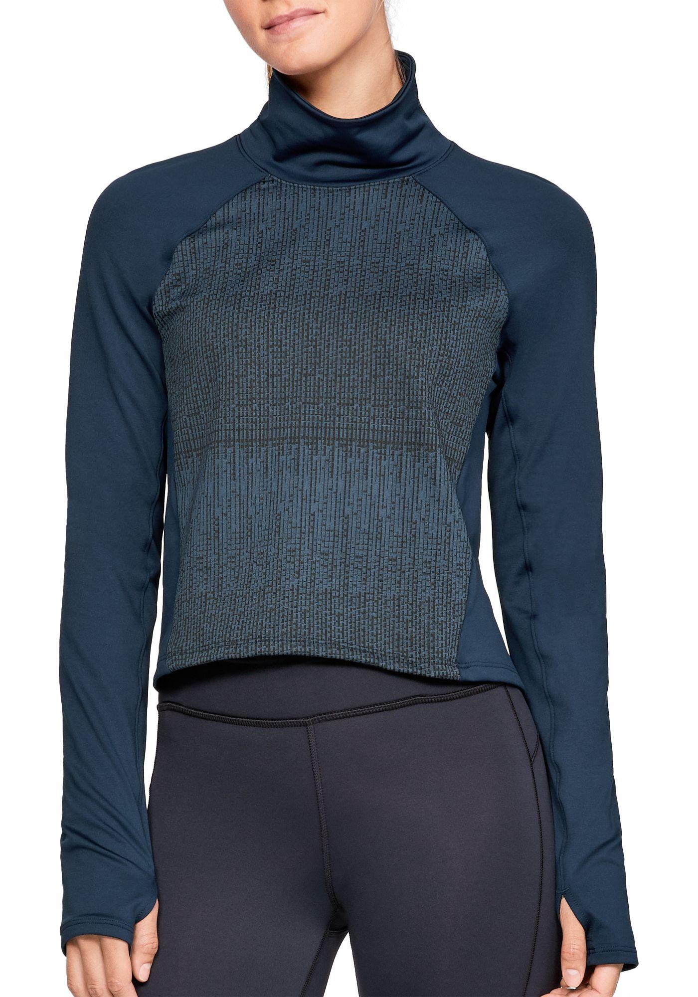 Under Armour Women's ColdGear Cozy Mock Neck Long Sleeve Shirt