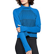 Under Armour Women's ColdGear Cozy Mock Neck Long Sleeve Shirt
