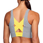 Under Armour Women's Favorite Cotton Longline Heathered Everyday Sports Bra