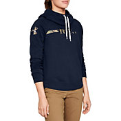 Under Armour Women's Favorite Fleece Camo Logo Hoodie