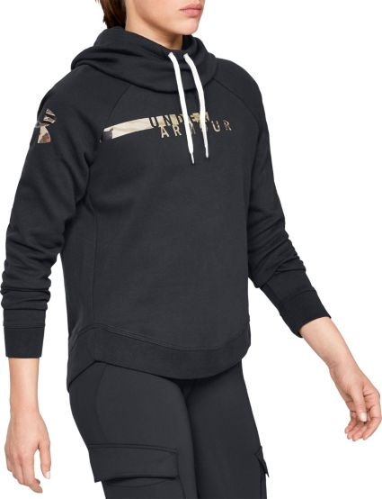 10a80c62c5d Under Armour Women s Favorite Fleece Camo Logo Hoodie. noImageFound
