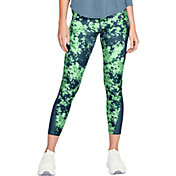 Under Armour Women's HeatGear Armour Print Ankle Crop 7/8 Leggings